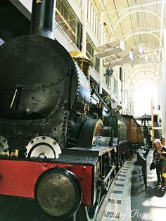 AUST-Sydney Powerhouse Museum -this locomotive hauled NSW's first train