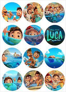 Kits Imprimibles Gratis Toppers Luca En 2021 Imagenes De Dinosaurios Animados Libro De C En 2021 Imagenes De Dinosaurios Animados Disney Imagenes Libro De Colores