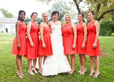 Dear future bridesmaids,  we will be outside!