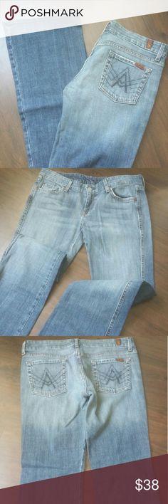 7 For all mankind jeans 7 For all mankind jeans.  Size 30 bootcut 7 For All Mankind Jeans Boot Cut