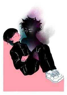 Mob + ???% - BAD★PLAID // hellosailorsuits on tumblr