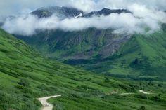 Hatcher Pass Road, Alaska