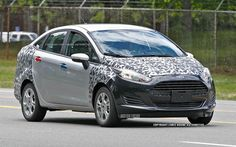 2014 Ford Fiesta Spied with Almost No Camo - WOT on Motor Trend