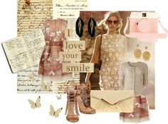 Color Palette: Golds and Nudes @ http://theliterarychic.wordpress.com