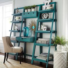 Our ladder-style Morgan collection offers a sleek, stylish way to step up your #organization efforts. #Pier1 #instahome Speaking of organization, we put everything you need for this look in our Like2b.uy/Pier1 link in our profile.