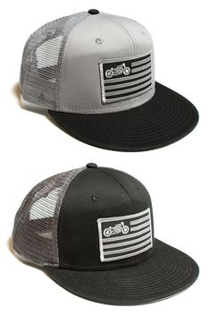"""""""United Moto"""" Hats from Scotch and Iron"""