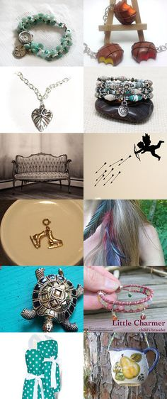 Simply Charming! by breakitupdesigns on Etsy--Pinned with TreasuryPin.com  #christmasinjuly