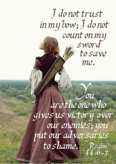 Psalms For I will not trust in my bow, neither shall my sword save me. Psalms But thou hast saved us from our enemies, and hast put them to shame that hated us. Psalms In God we boast all the day long, and praise thy name for ever. Bible Scriptures, Bible Quotes, Bible Psalms, Scripture Cards, La Sainte Bible, Armor Of God, Spiritual Warfare, Spiritual Attack, Prayer Warrior