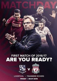 Pre-season begins today! YNWA