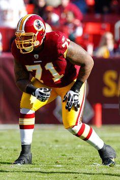 Redskins #71 Trent Williams
