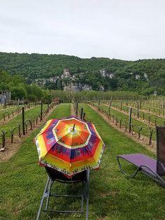 Parapluies colorés en balade...