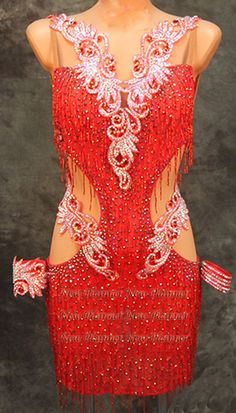 Sexty Women Ballroom Rhythm Salsa Rumba Latin Competition Dance Dress US 6 UK 8  | Clothing, Shoes & Accessories, Dancewear, Adult Dancewear | eBay!
