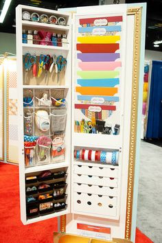 Jinger Adams Crafting Armoire. I want this!!!  It is supposed to come out in May and I will have it in my craftroom.