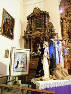 Iglesia de Santo Tomas Cantuariense. Lado del Evangelio del crucero.