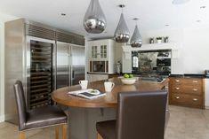 Modern Kitchen with Wine Chiller