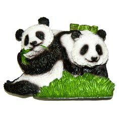 Resin Fridge Magnet: China. Panda