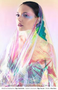 Iridescent editorial, Iridescent editorial, www.martaphotographer.com, opalising, shiny, sparkling, pastel, luminous, beauty.
