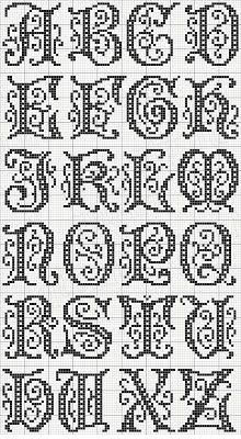 Love collecting alphabet patterns