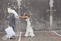 I love this!! maybe not on our wedding day, but would be a fun bridal shoot for after that fact