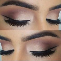 Beautiful all natural makeup look with a pop!!!
