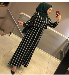 Another great product in stock – – Hijab Clothing & Fashion Iranian Women Fashion, Islamic Fashion, Muslim Fashion, Hijab Evening Dress, Hijab Dress Party, Abaya Fashion, Fashion Outfits, Mode Abaya, Hijab Fashionista