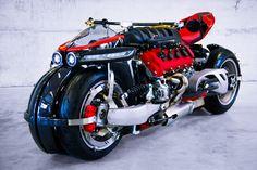 Lazareth LM 847 – A Maserati-Powered Leaning Quad.    http://lazareth.fr/project/lm-847-lazareth-v8-4700cc/
