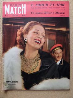 PARIS MATCH N°12 juin 1949 MARIA MONTEZ