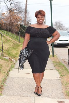 Knockout outfit! Combination of New Look and Asos among others from Grownandcurvywoman blog.