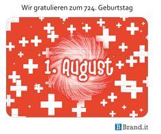 Wir gratulieren allen Schweizern recht herzlich zum 724. Geburtstag #schweiz #bundesfeier #nationalfeiertag Ipad Case, Company Logo, Branding, Cases, Logos, National Day Holiday, Swiss Guard, Cordial, Birthday