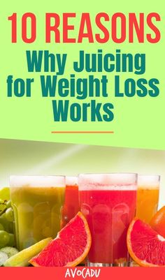 10 Reasons Why Juicing for Weight Loss Works, Works, WORKS It's almost impossible to lose weight if you don't get the right amount of nutrients every day. In this article, we'll explain how exactly to use juicing for weight loss and why it really WORKS! Weight Loss Juice, Weight Loss Drinks, Weight Loss Goals, Fast Weight Loss, Healthy Weight Loss, Weight Gain, Reduce Weight, Fat Fast, Lose Weight In A Week