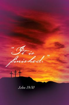 Jesus was crucified. It's over now. If he wasn't crucified, we wouldn't even be here right now. So take a minute to think about God and Jesus and send them a prayer thanking them for everything they've done for you. Tell them thank you for saving our lives.