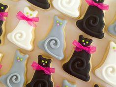 Cat Mini Sugar Cookies