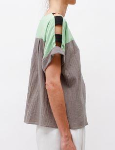 Rachel Comey Fence Tee- Grey ($200-500) - Svpply