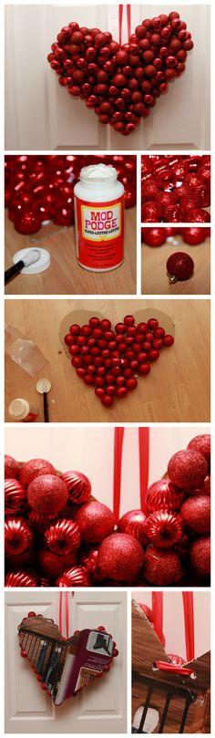 Valentine's Day DIY Wreath