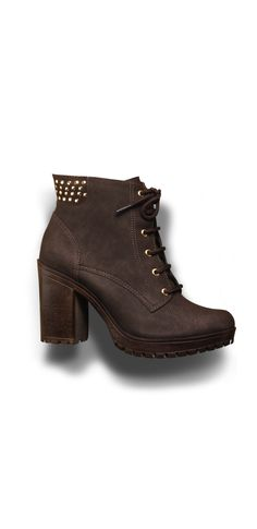 winter - boots - brown shoes - tachas - heels - Inverno 2015 - Ref. 15-5802