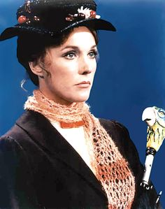 Mary Poppins, one of my favorites as a child. Julie Andrews is GORGEOUS AND AMAZING!