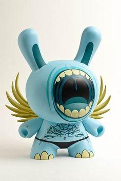 Blue Big Mouth - SDCC exclusive  Artist: DEPH  Manufacturer: Kidrobot