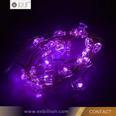 Lotus shape party decoration led string light and diwali gifts