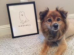 Personalized pet art - all breeds available from http://personal-prints.com/collections/pets-animals