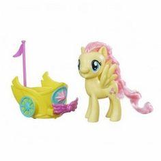 Hasbro My Little Pony Spin Along Chariot - Fluttershy Figure (B9836Eu40)