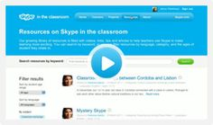 Skype Education is an educational version of Skype used to make connections with other classrooms and teachers around the world!