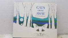 Cats From Away, 1989, Peter Parnell, vintage kids book, vintage cat book by RandomGoodsBookRoom on Etsy