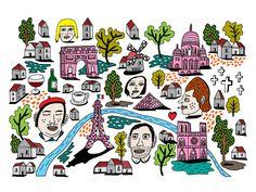 VO | Valérie Oualid : Agent d'illustrateurs | Bob London | All Air Balloon, Balloons, Bob, Paris, London, Illustration, Comics, Drawings, Instagram Posts