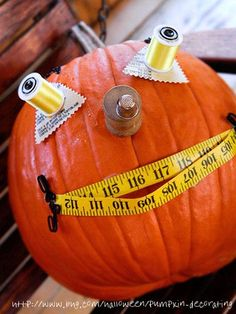 Sewing Truths - Sewing Humor - Sewing Quotes - Halloween Pumpkin