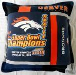 T-Shirt Pillow - Denver Broncos - DB2