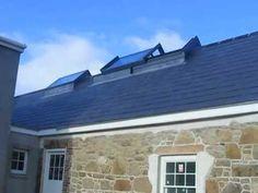 Sliding Ridge Rooflight External