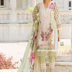 Buy Sobia Nazir Vital Collection 2019 Embroidered Lawn Unstitched 3 Piece Suit from Sanaulla Store - Original Products. Pakistani Designers, Pakistani Dress Design, Pakistani Suits, Pakistani Dresses, Best Designer Suits, Designer Dresses, Formal Pants Women, Kids Nightwear, Pakistani Fashion Casual