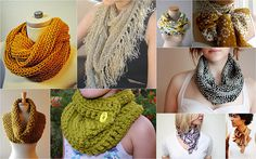 Scarves...the green one...i like this...
