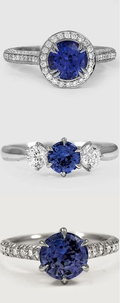 Love the unique glamour of sapphire engagement rings? Discover your own sapphire style now!