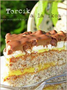 Sweet Recipes, Cake Recipes, Ikea, Polish Recipes, International Recipes, Cakes And More, Hot Dog Buns, Sweet Treats, Food And Drink